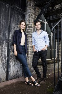 Ruta Gedmintas and Matthew Lewis. Photo courtesy of Darren Bell