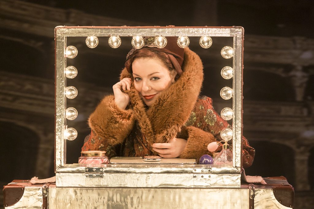 FUNNY GIRL by Styne, , Music - Jule Styne, Lyrics - Bob Merril, Director - Michael Mayer, Choreographer - Lynne Page, Set Michael Pavelka, Costumes - Matthew Wright, Lighting - Mark Henderson, Savoy Theatre, London, 2016, Credit: Johan Persson/