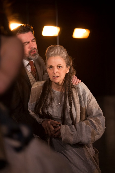 Gillian Bevan as Cymbeline. Photo by Ellie Kurttz
