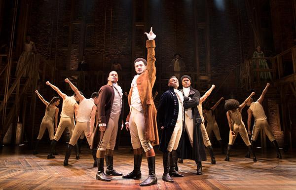 Hamilton @ Victoria Palace Theatre