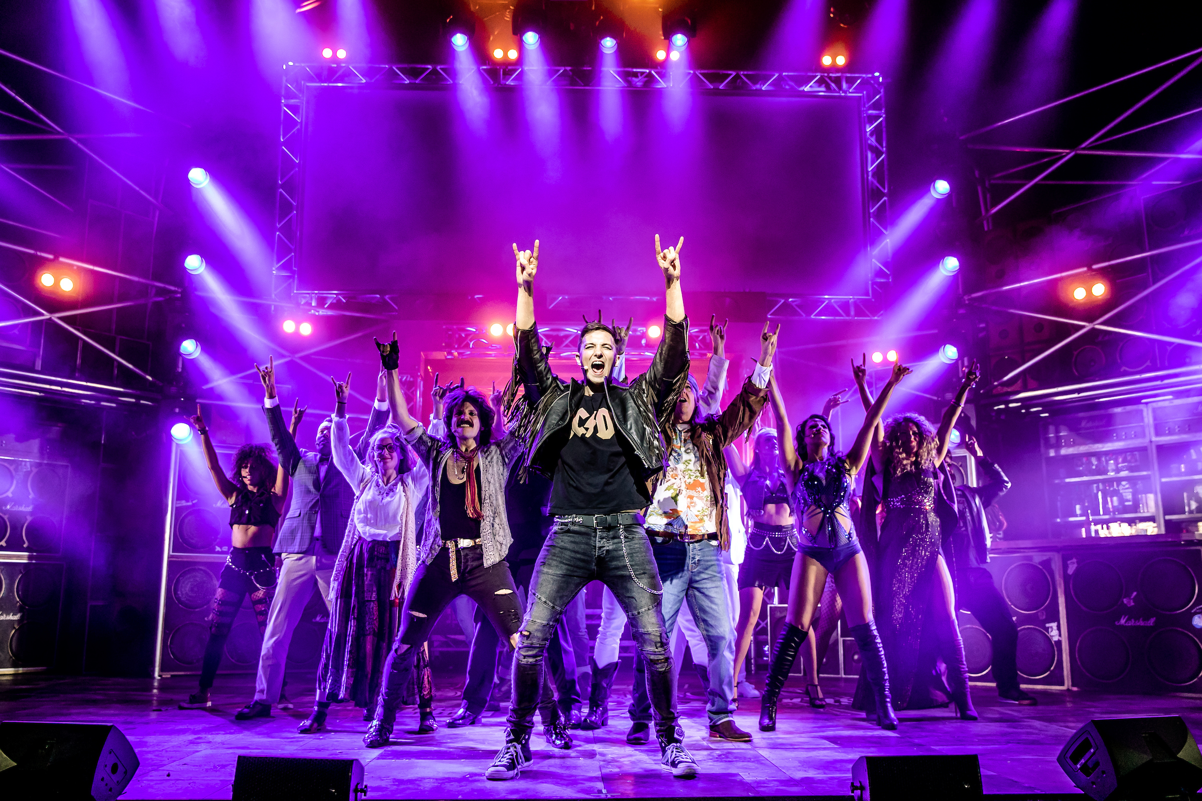 Rock of Ages @ Mayflower Theatre, Southampton
