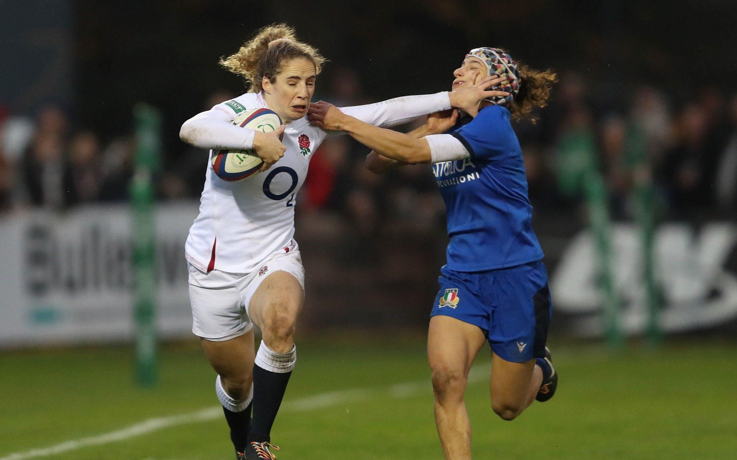 On the eve of the Six Nations we speak with England flier Abby Dow