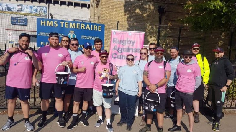 Trekking From Twickers with Rugby Against Cancer