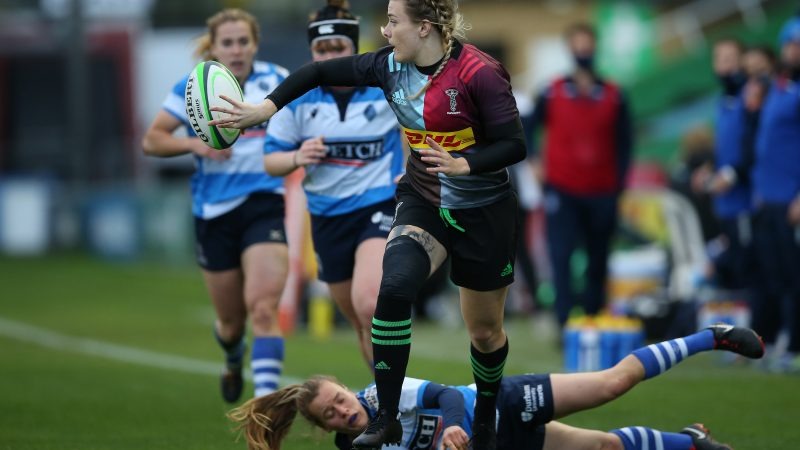 A perfect start to the season. Beth Wilcock tells us about Harlequins' big win!