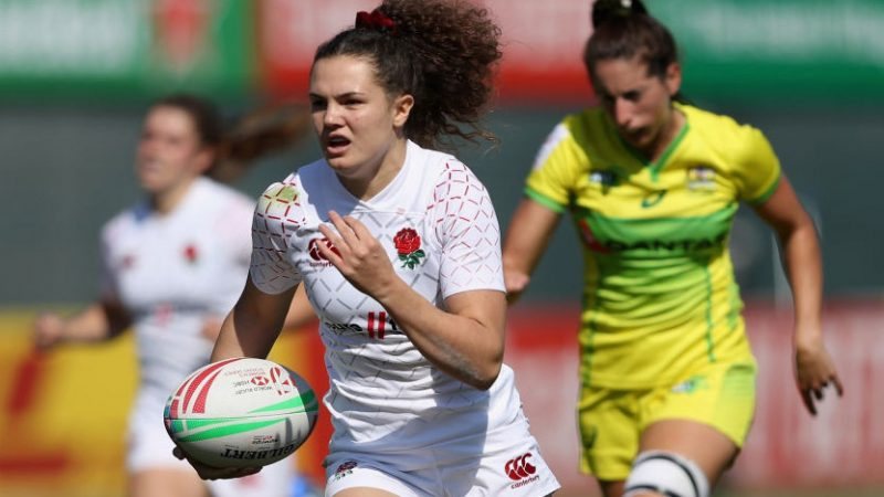 The Sky Is The Limit! We catch up with Red Roses flying fullback Ellie Kildunne