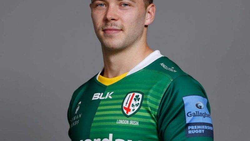 There's a legacy here and we want to build on it! Theo Brophy Clews on the future of London Irish.