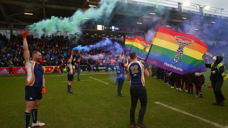 Harlequins promote inclusion with LGBTQ+ Supporters Association