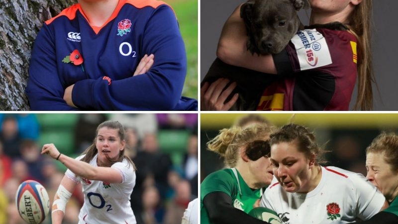 A glimpse into life in the England Rugby camp with Red Roses Amy Cokayne and Leanne Riley